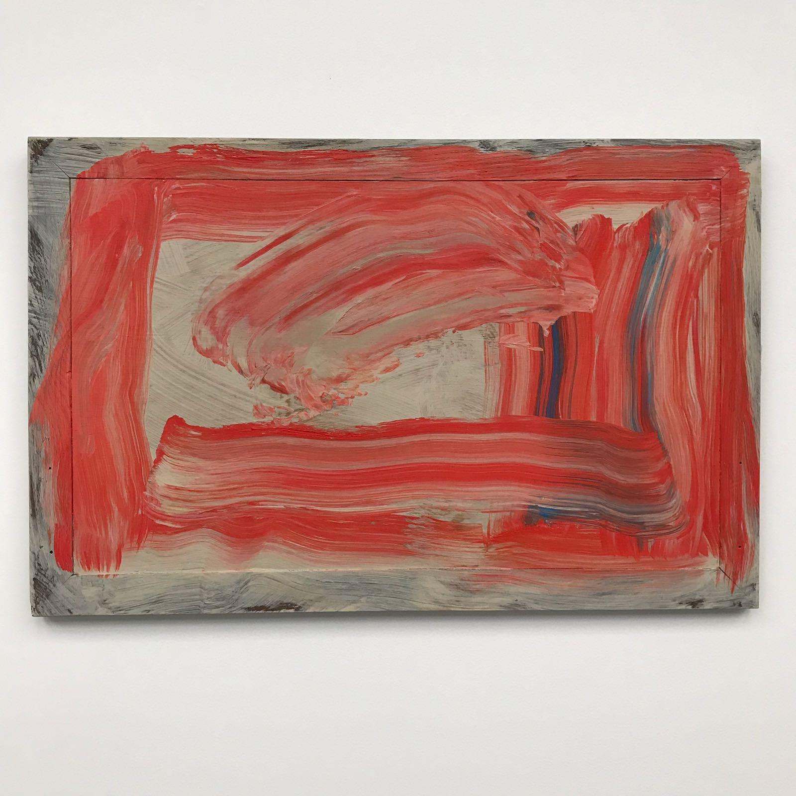 Howard Hodgkin-red sky in the morning
