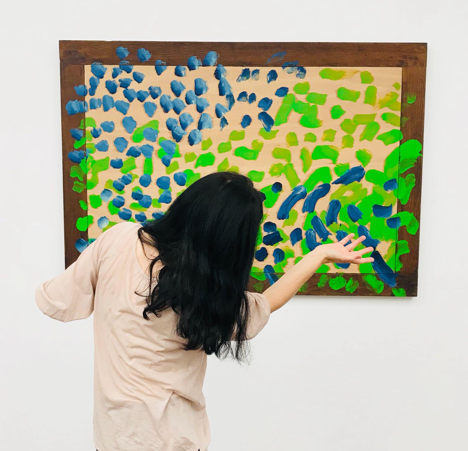 Howard Hodgkin-The art blueberry1