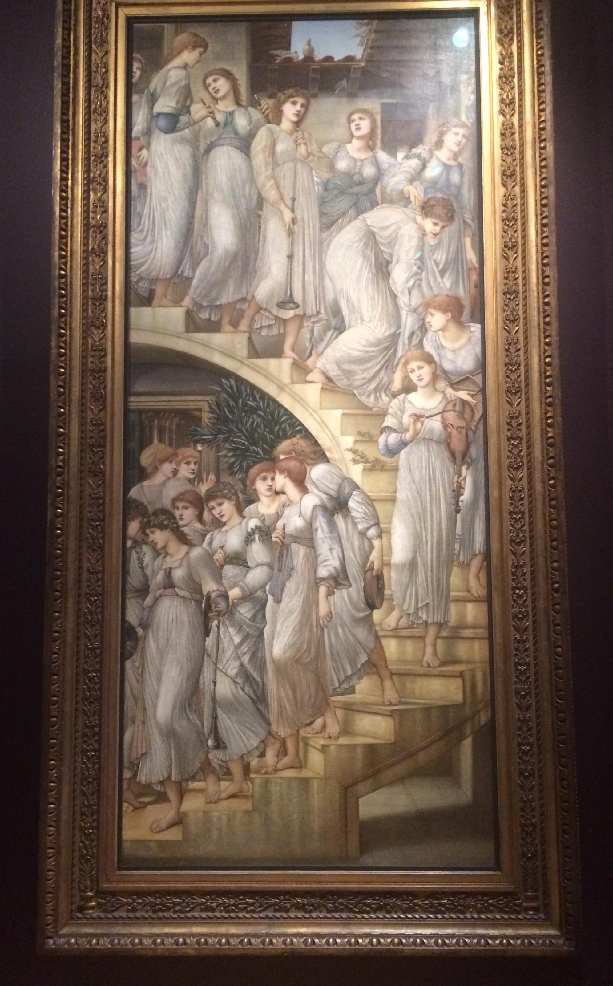 Burne-Jones_Golden Stairs
