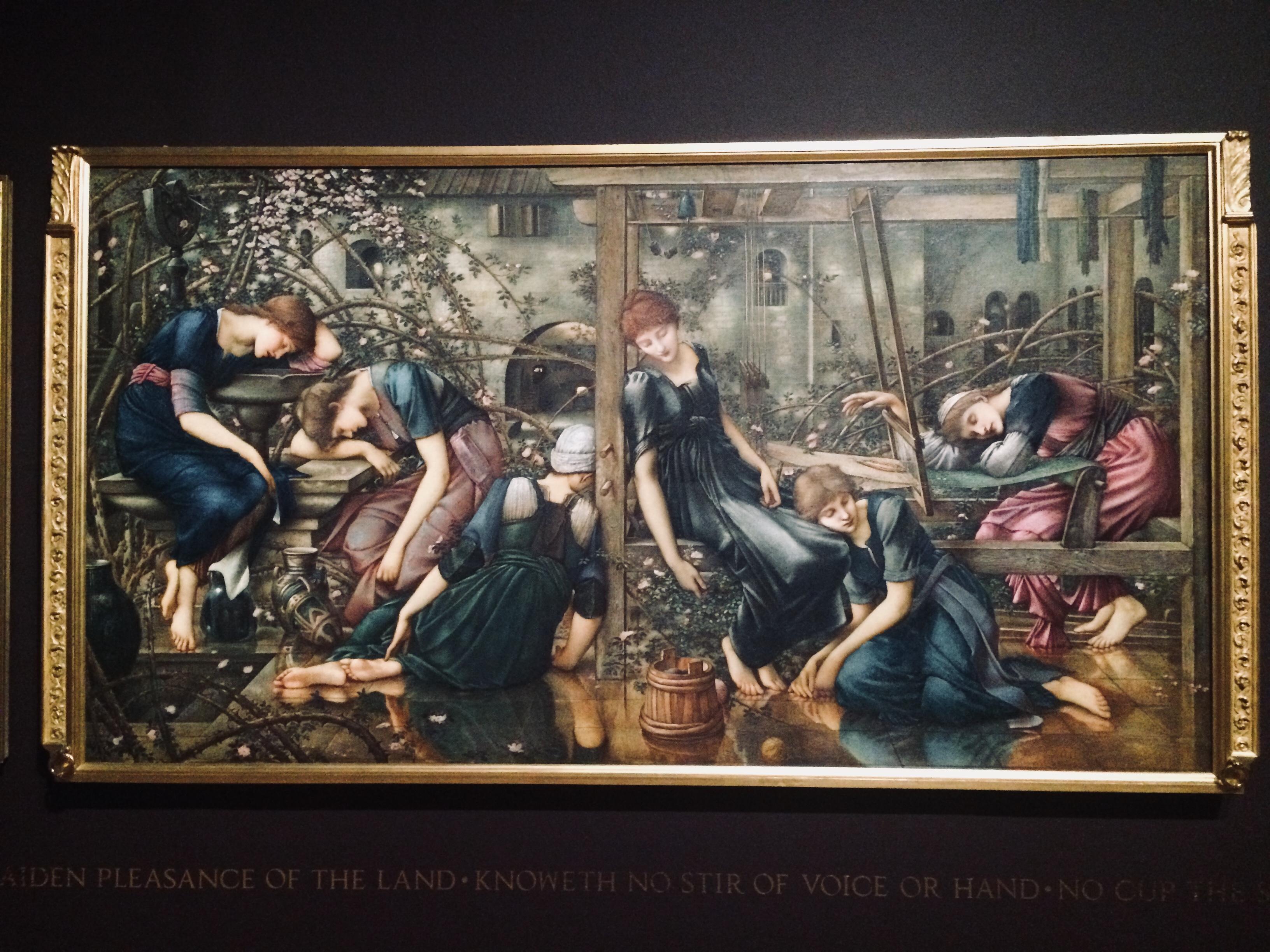 Burne-Jones_Sleeping Beauty 1
