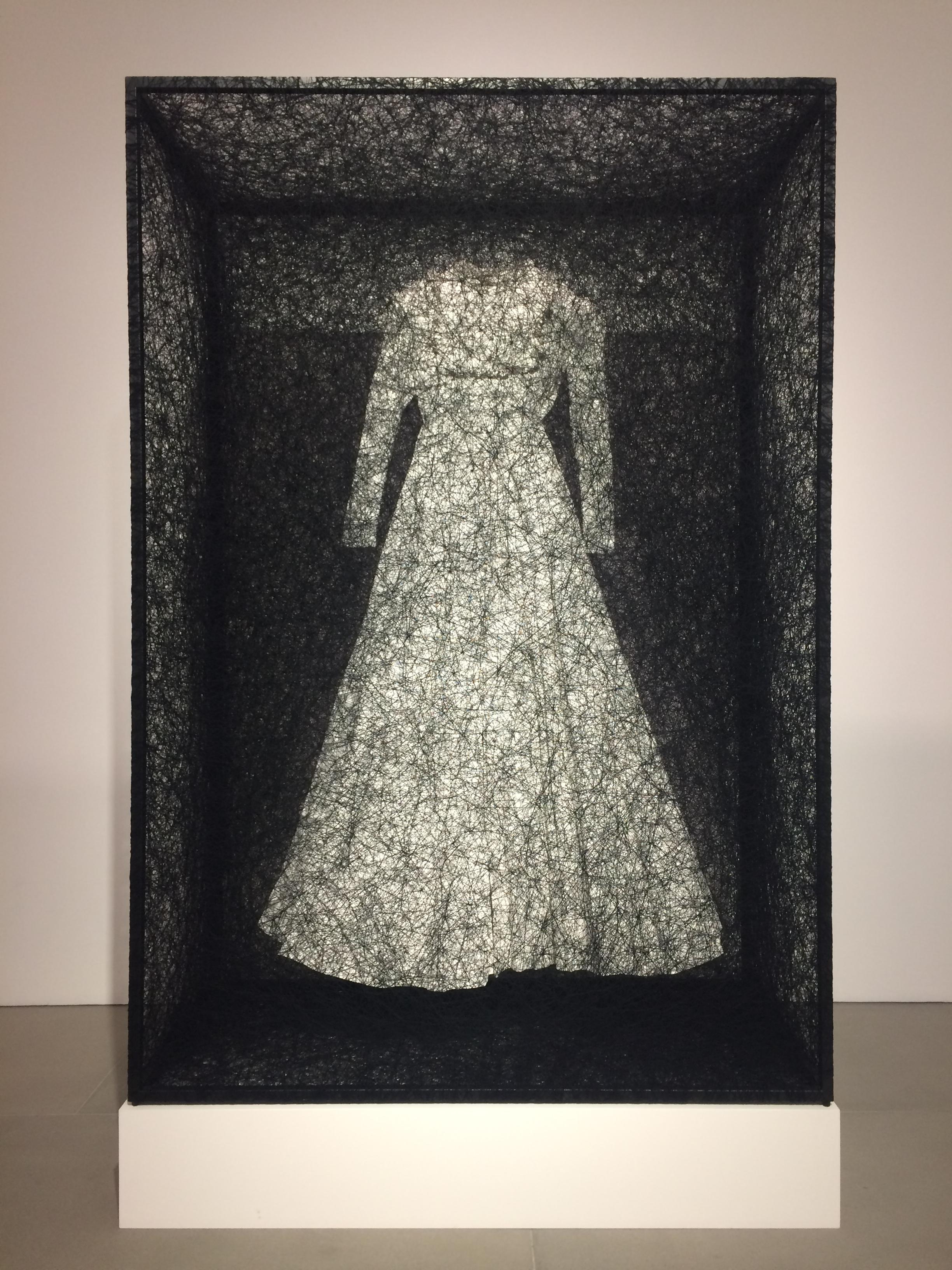Chiharu Shiota - State of being dress