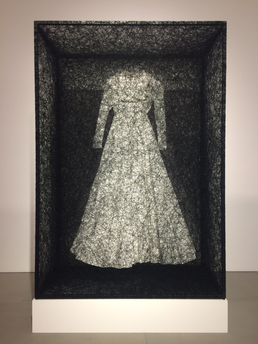Chiharu Shiota - State of being dress