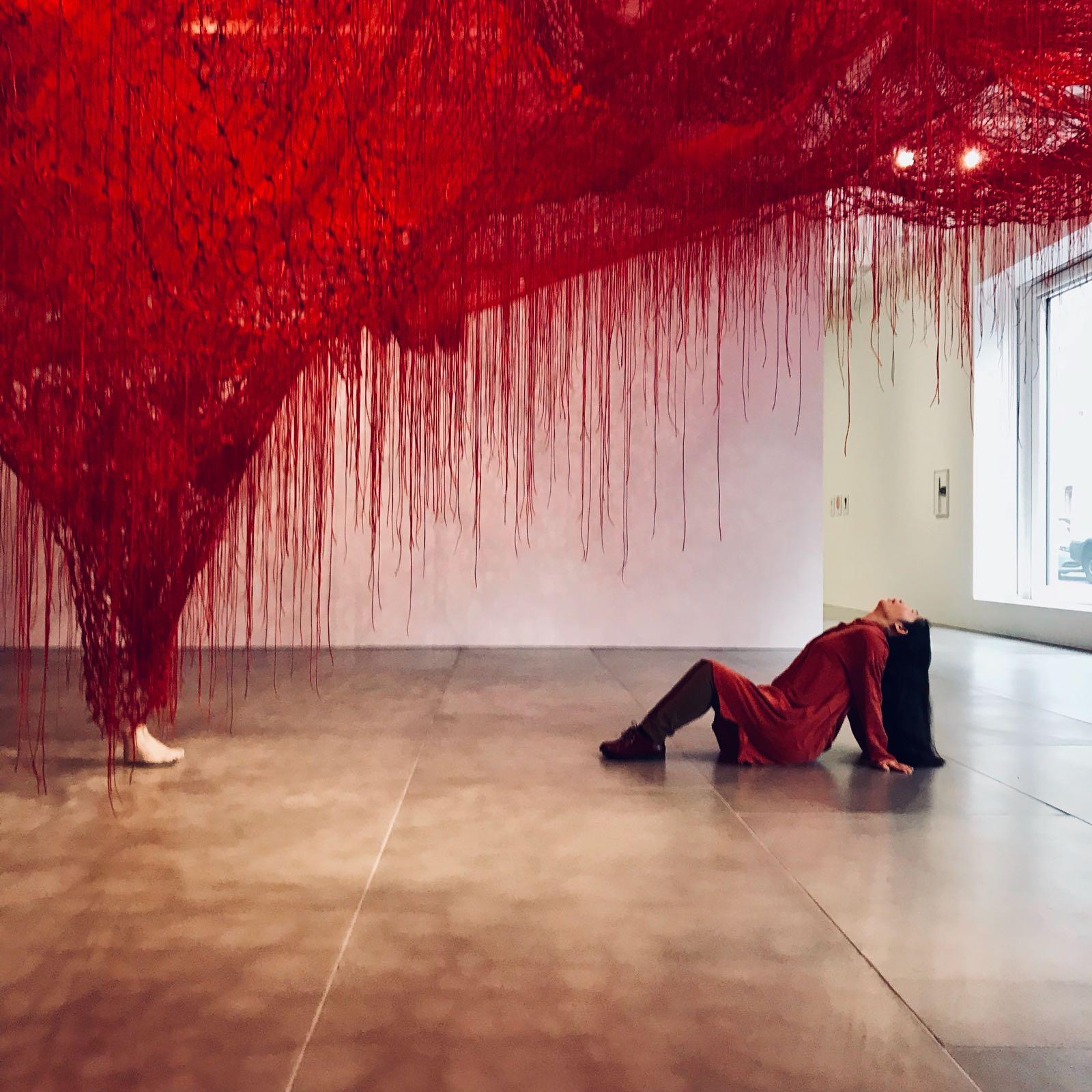 Chiharu Shiota-The art blackberry 1