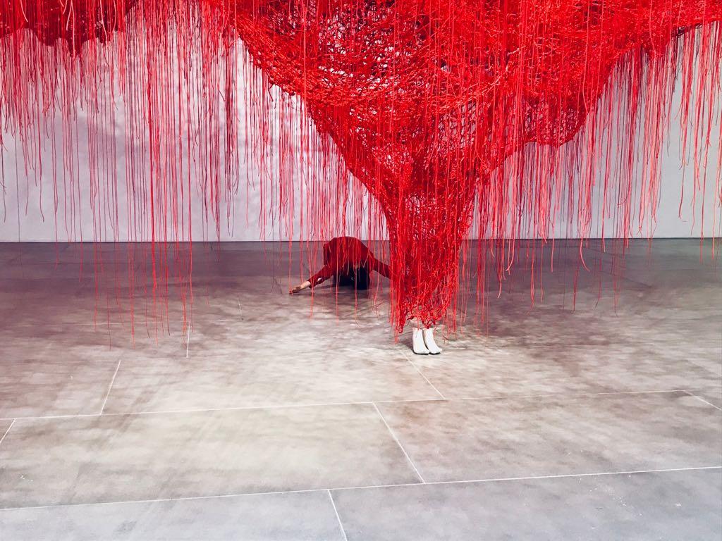 Chiharu Shiota - The art blackberry 2