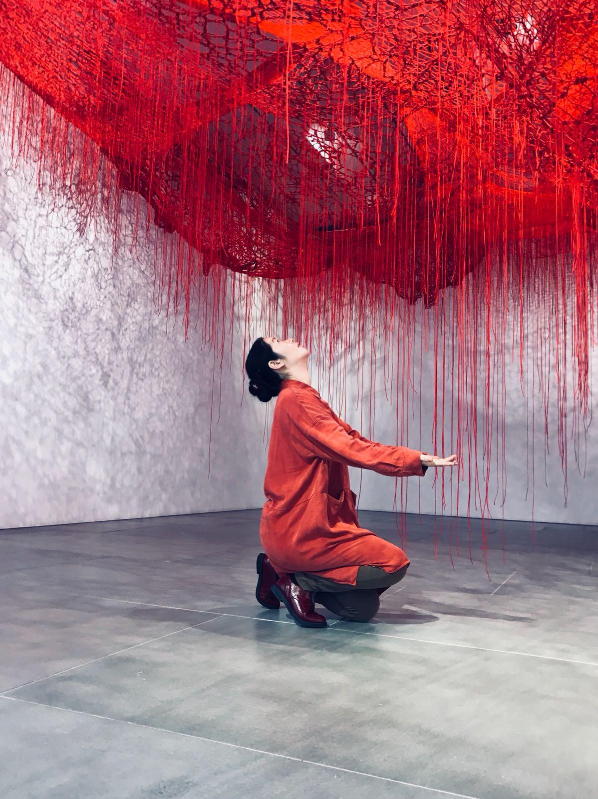 Chiharu Shiota- The art blackberry 3