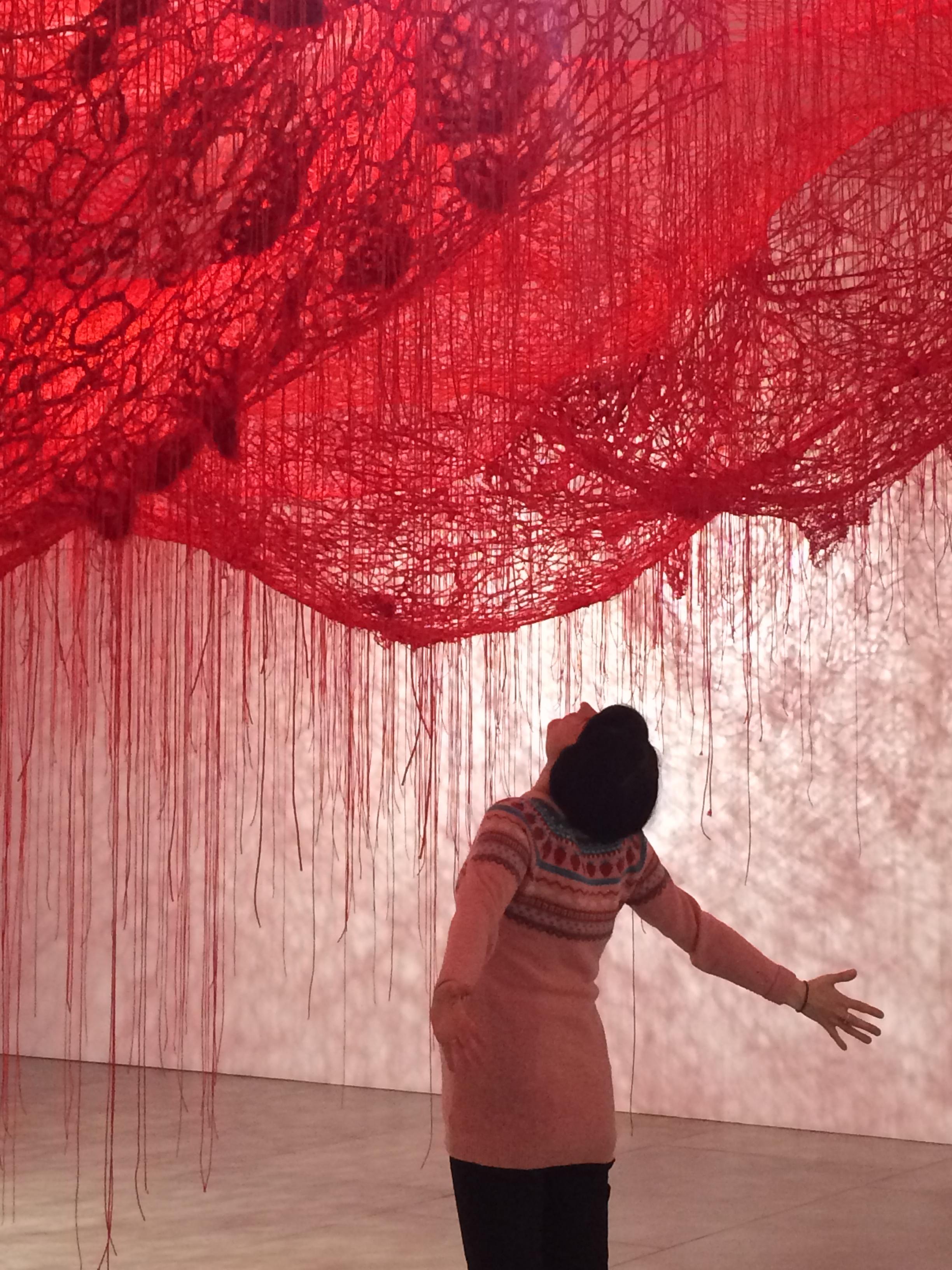 Chiharu Shiota - The art blueberry